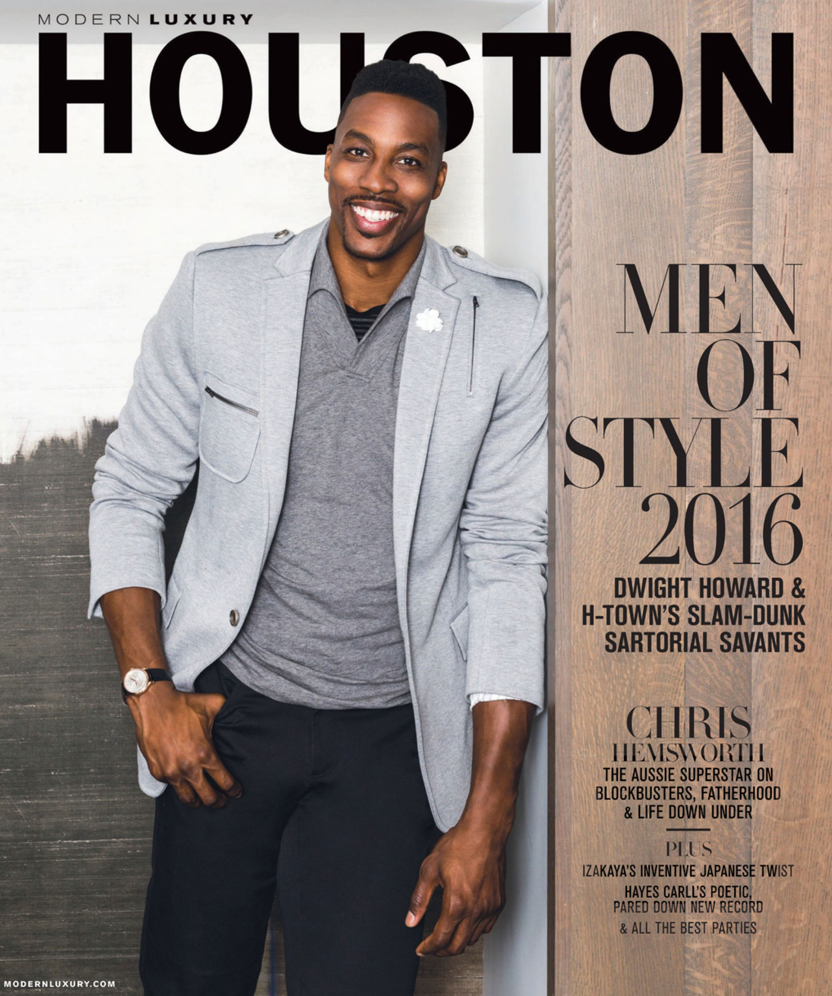 Modern Luxury Houston Dwight Howard - Magazine Photography - Julie Soefer Photography