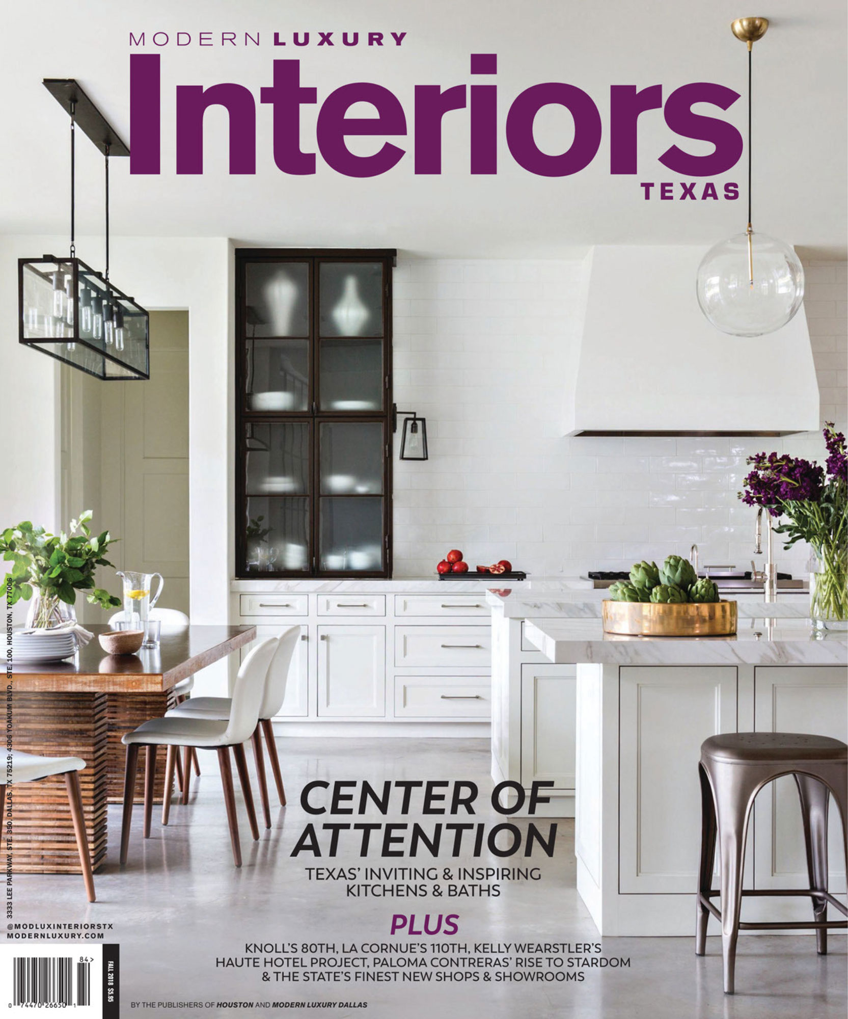 Modern Luxury Interiors Texas - Magazine Photography - Julie Soefer Photography