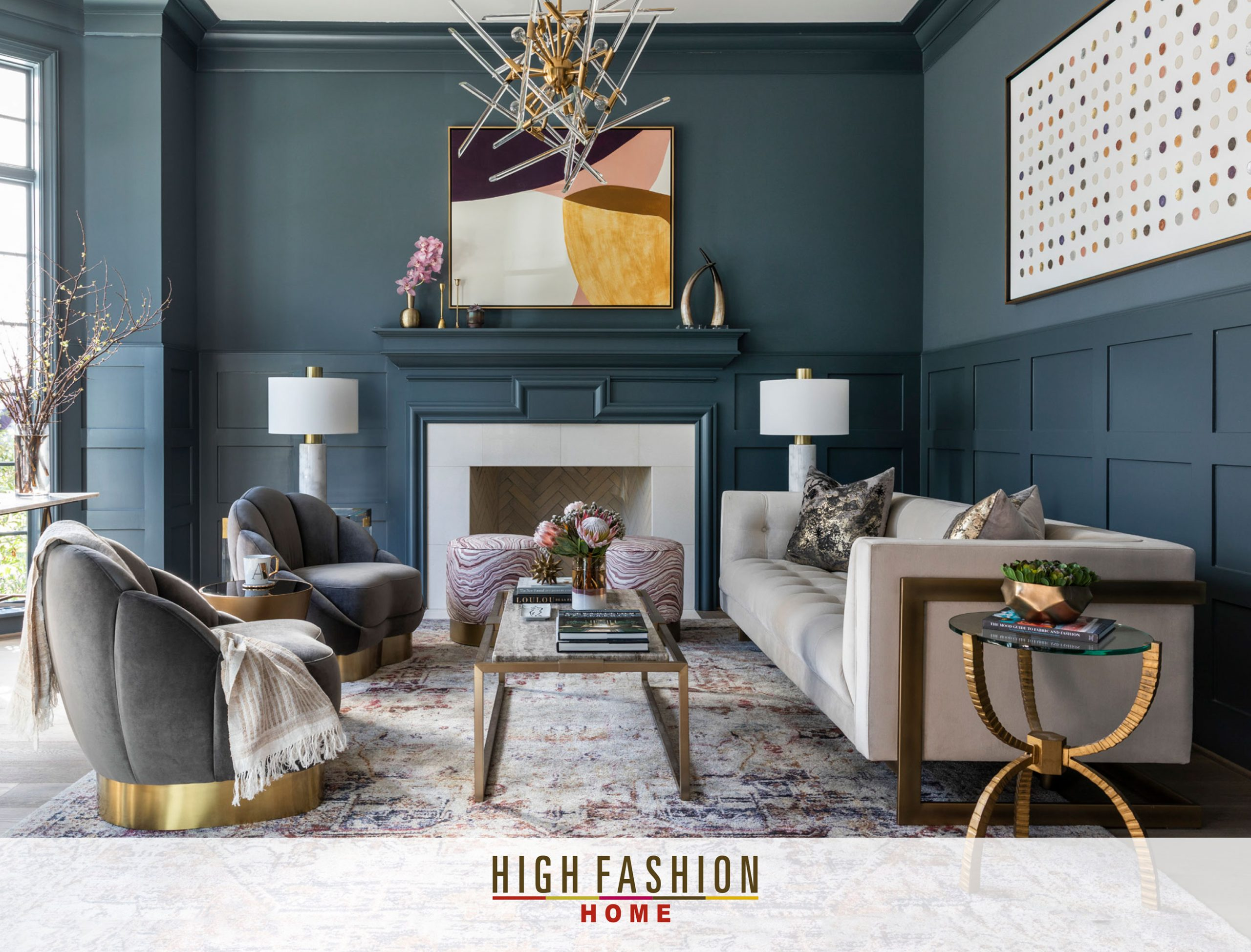 High Fashion Home - Ad Photography - Julie Soefer Photography