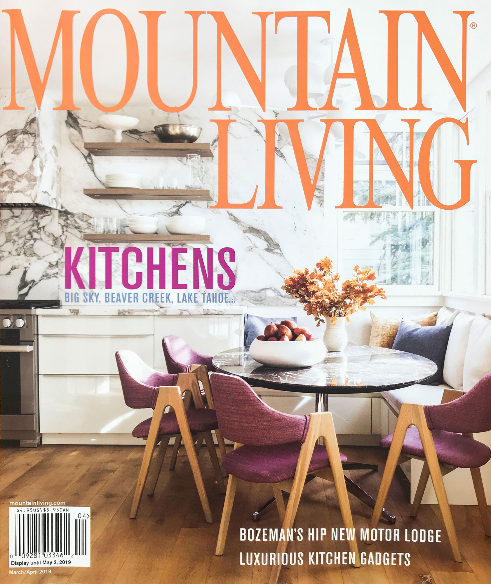 Mountain Living - Magazine Photography - Julie Soefer Photography