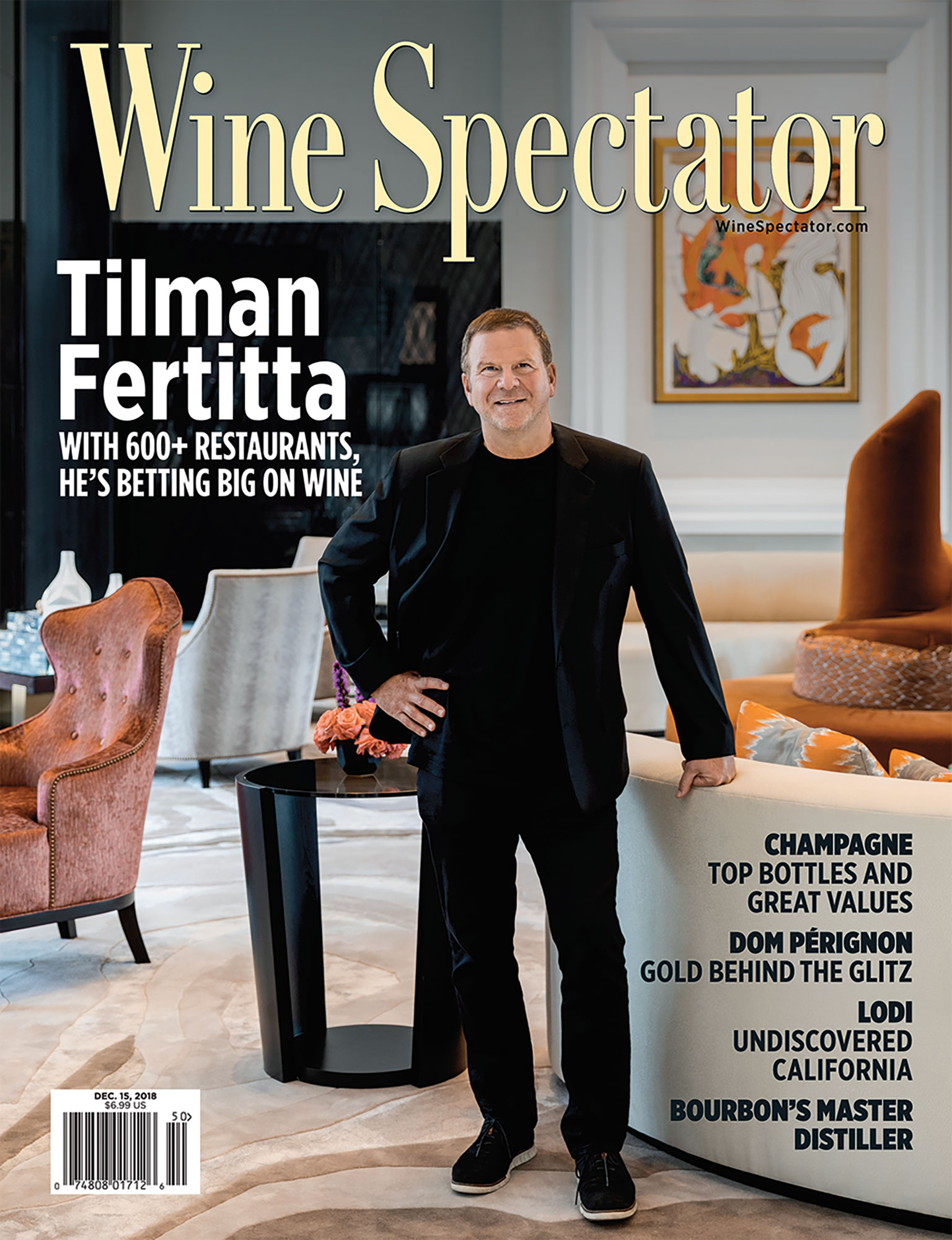 Wine Spectator - Magazine Photography - Julie Soefer Photography