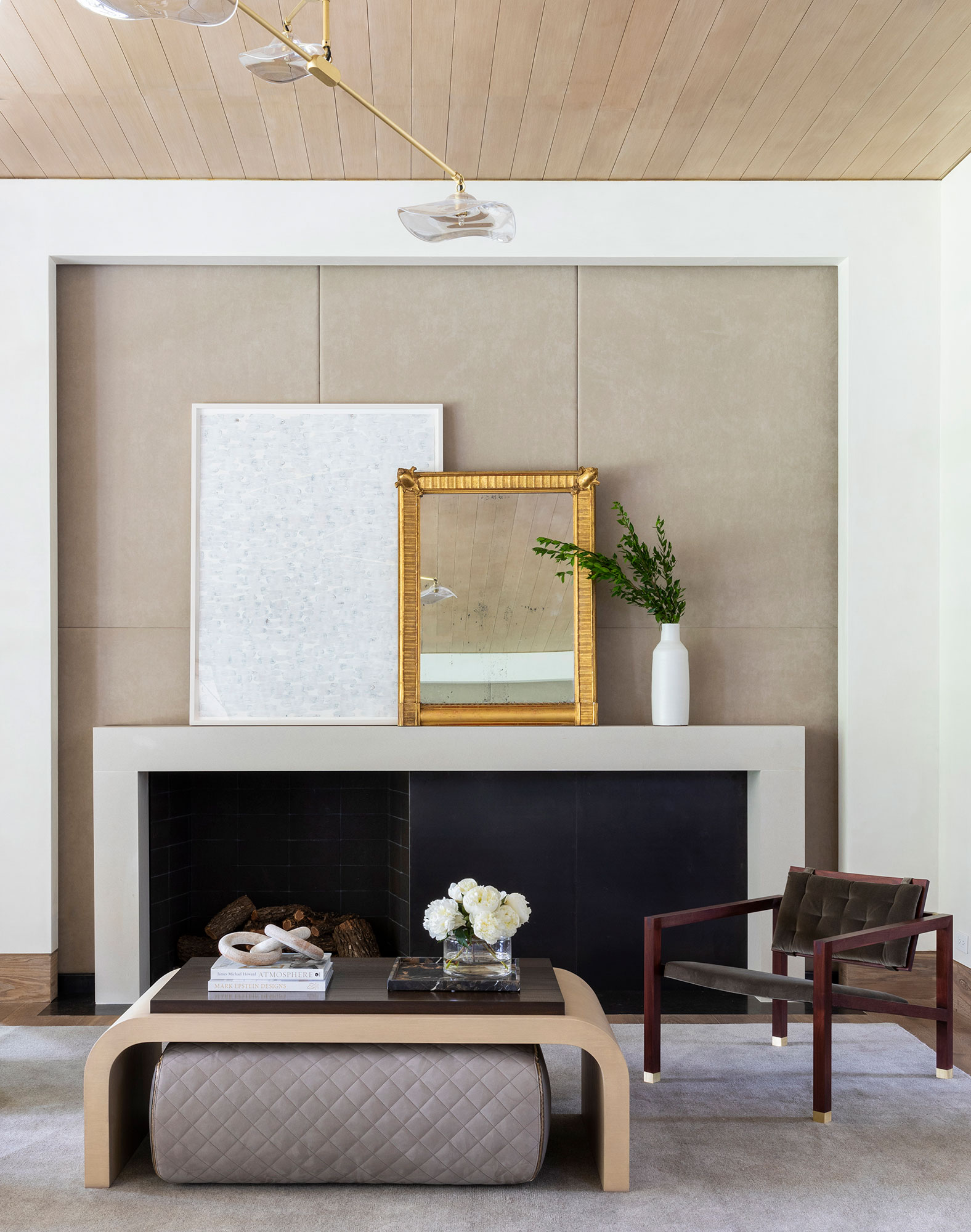 Fireplace Interiors Photography - Julie Soefer Photography