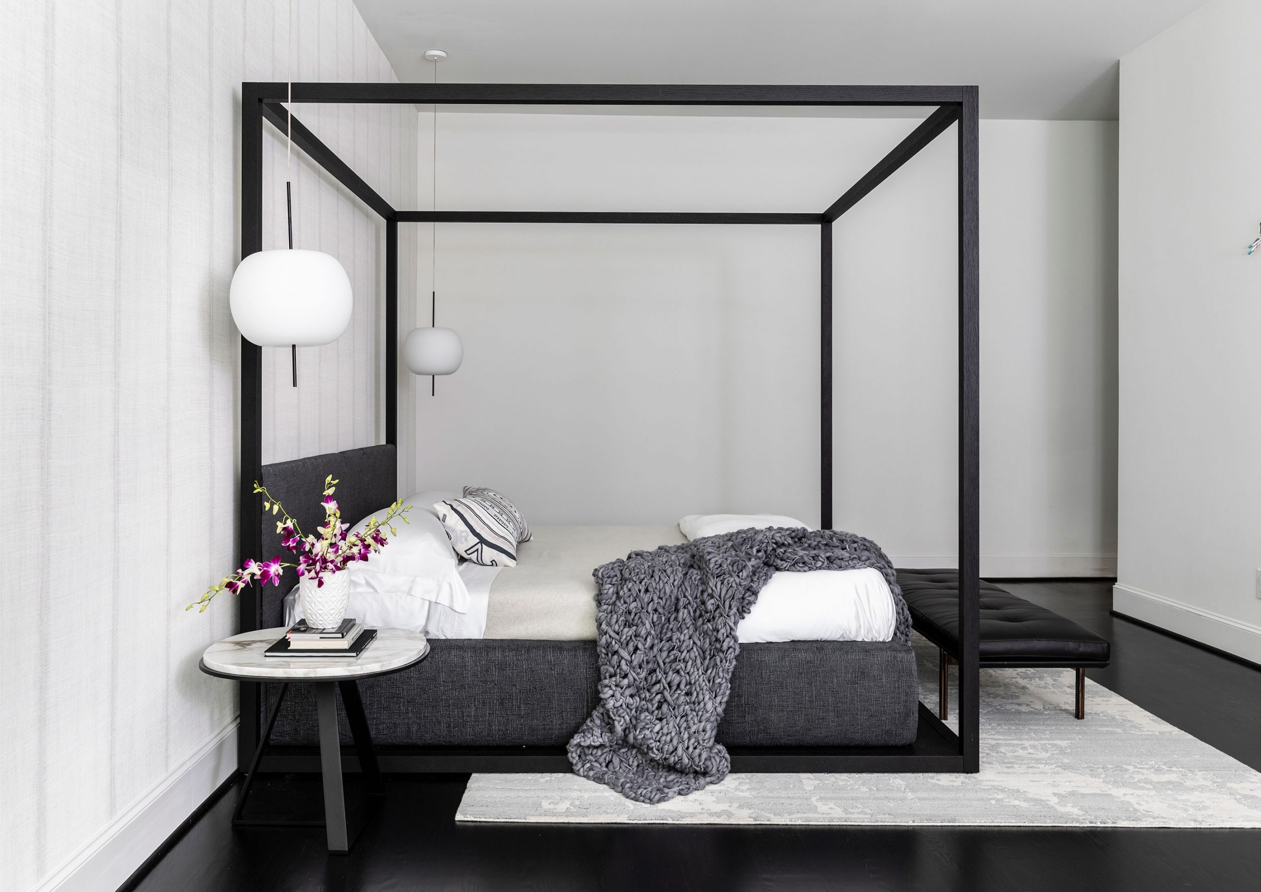 Bed Interiors Photography - Julie Soefer Photography