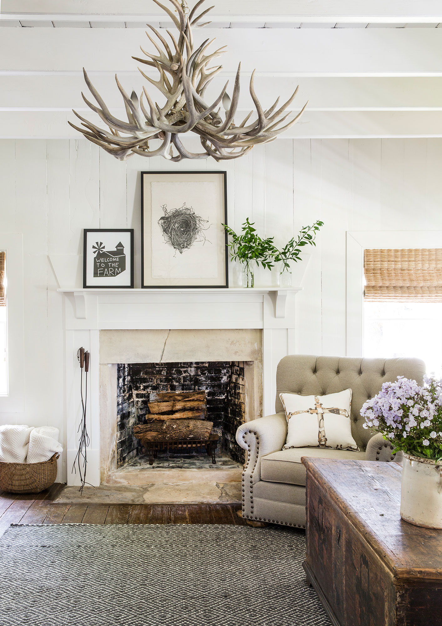 Livingroom Interiors Photography - Julie Soefer Photography