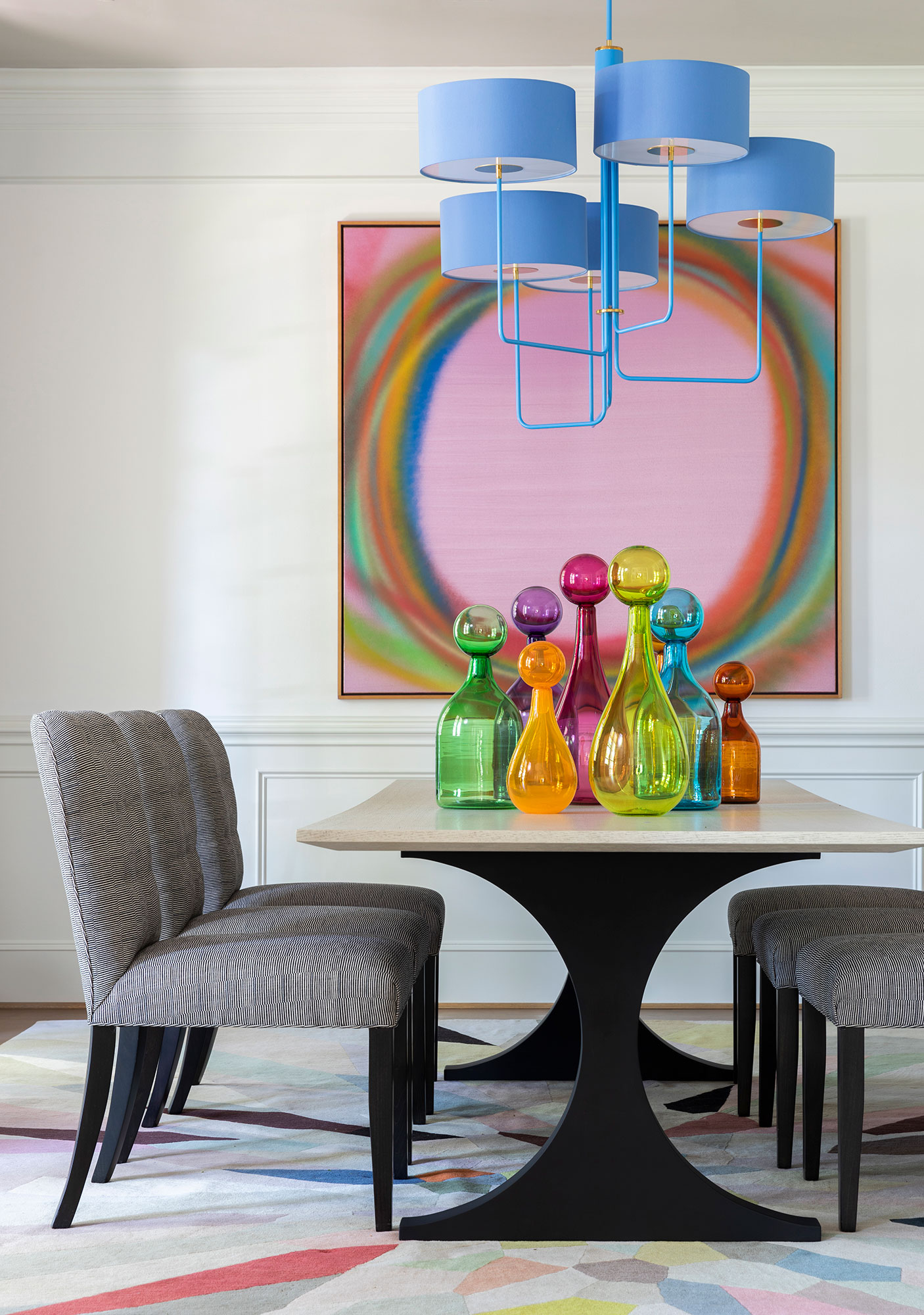 Dining room Interiors Photography - Julie Soefer Photography